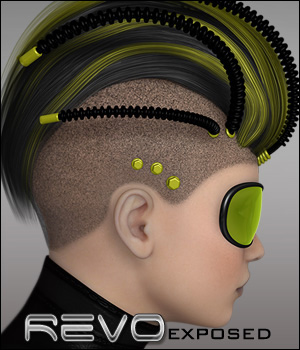 Revo Exposed 3D Figure Assets P3D-Art