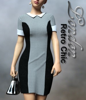Retro Chic London Clothing G3F & G8F 3D Figure Assets chasmata