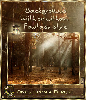 Once upon a Forest 2D Graphics Cyriona