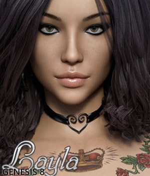 3DSS Layla for Genesis 8 Female 3D Figure Assets 3DSublimeProductions