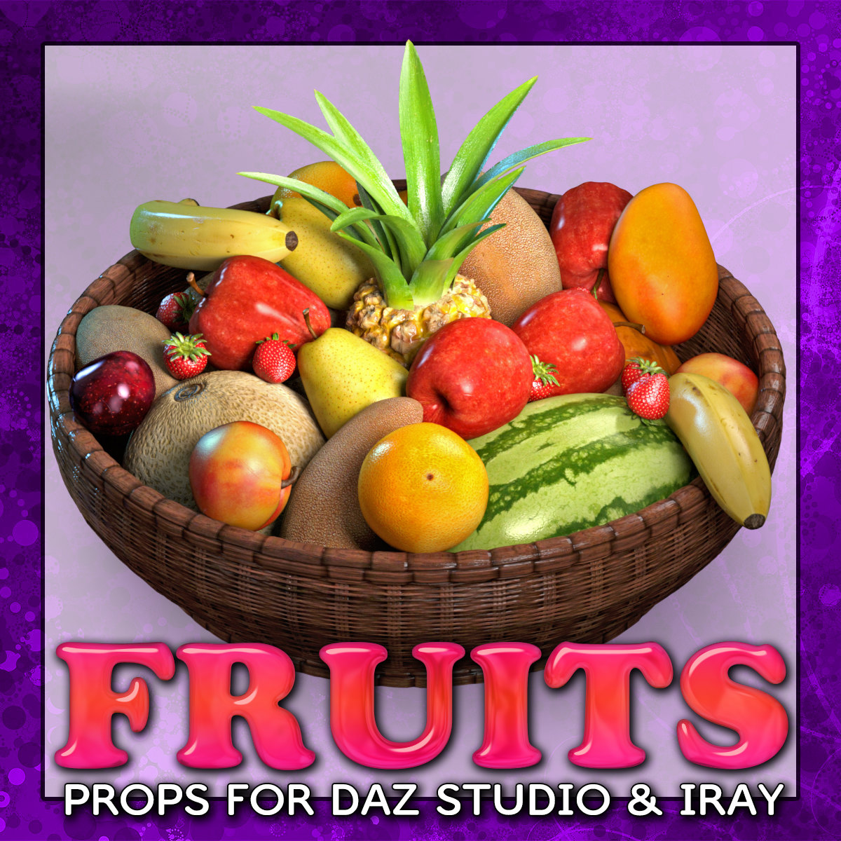 Exnem Fruits for DAZ and IRAY