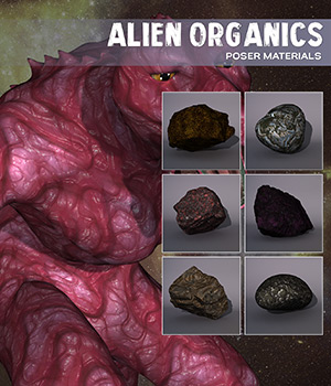 Poser - Alien Organics 2D Graphics Merchant Resources Atenais