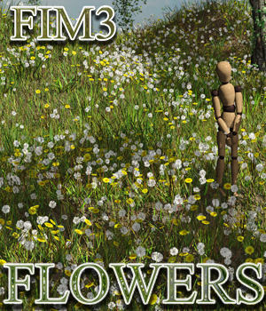 Flinks Instant Meadow 3 - Flowers 3D Models Flink