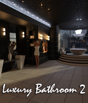 AJ Luxury Bathroom 2 3D Models -AppleJack-