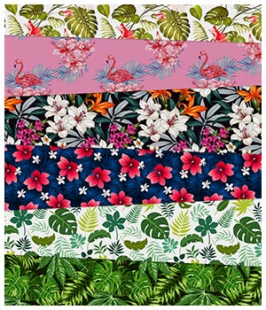Tropical Fabric Prints 2D Graphics Merchant Resources Medeina