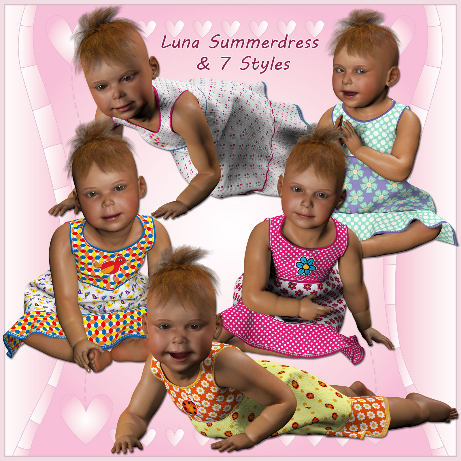 Luna Summerdress and 7 Styles