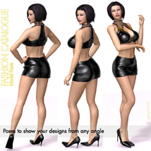 Fashion Catalogue Model Poses for V4 image 3