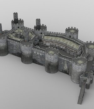 Castle Set 1 (for DAZ Studio) 3D Models VanishingPoint