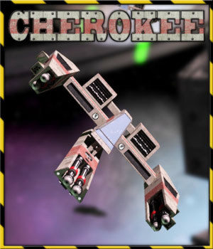 Cherokee Spacecraft by 3-d-c