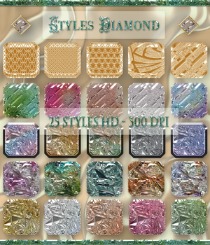 Styles Diamond 2D Graphics Merchant Resources Perledesoie