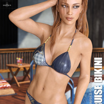 Cruise Bikini for Genesis 8 Females image 1