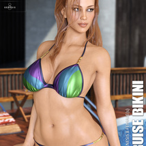 Cruise Bikini for Genesis 8 Females image 6