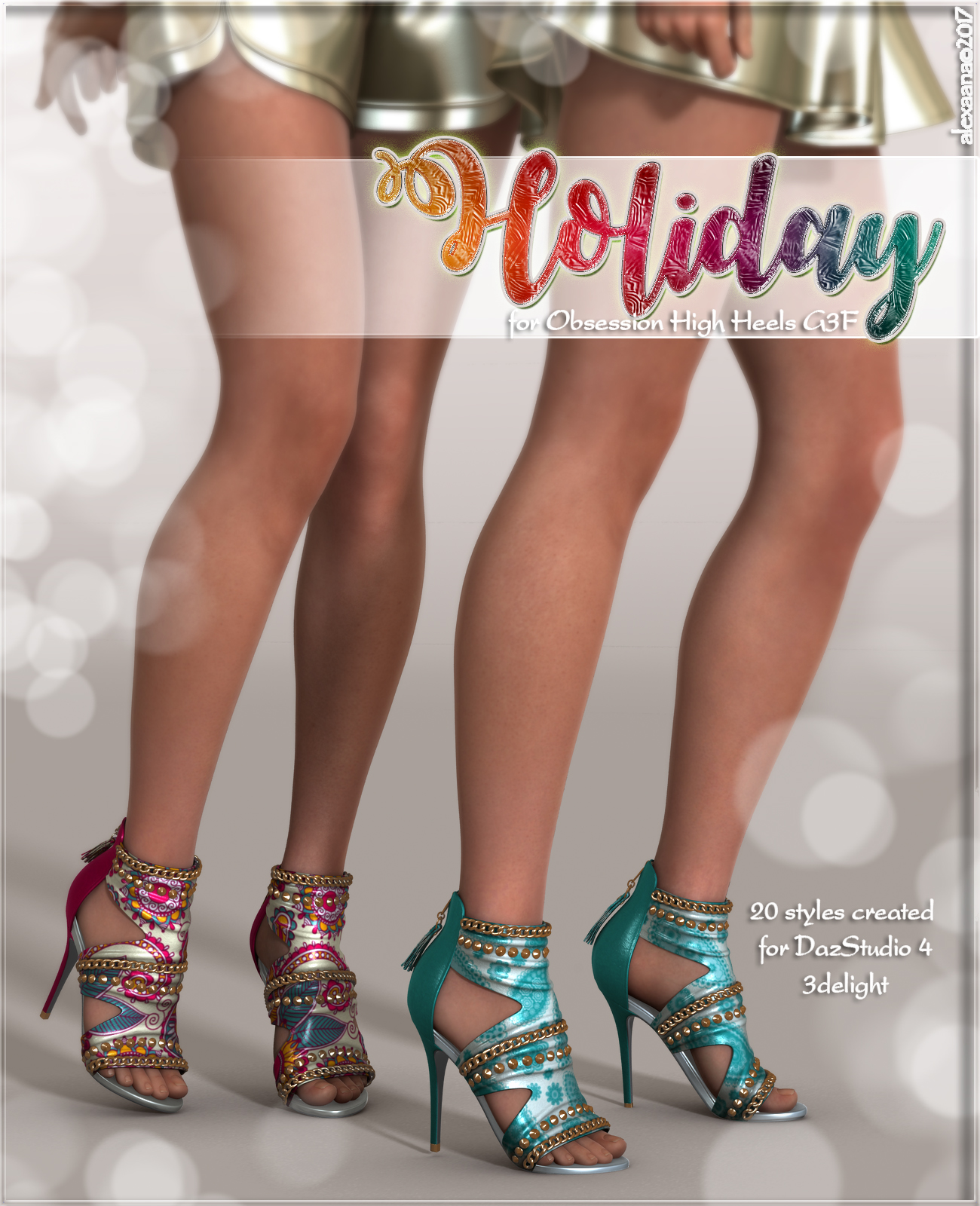 Holiday for Obsession High Heels G3F