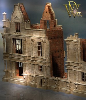 MS17 Moreton Corbet Ruin for Poser 3D Models London224