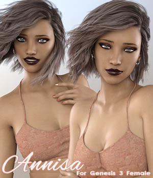 Annisa For G3F 3D Figure Assets Calico