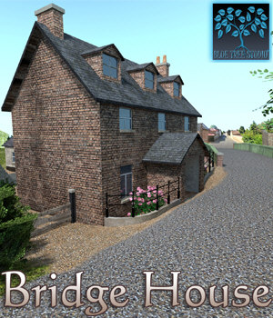Bridge House 3D Models BlueTreeStudio