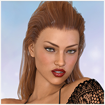 Z Bombshell - One-Click and Morph Dial Expressions for the Genesis 3 Females image 1