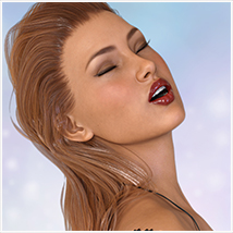 Z Bombshell - One-Click and Morph Dial Expressions for the Genesis 3 Females image 2