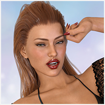 Z Bombshell - One-Click and Morph Dial Expressions for the Genesis 3 Females image 3