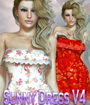 Sunny Dress V4/A4/Elite 3D Figure Assets kaleya