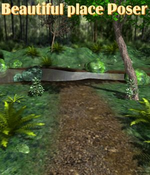 Beautiful place Poser 3D Models JeffersonAF