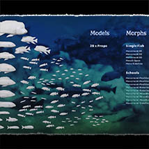 3D Underwater Fauna: African Cichlids - Extended License image 1