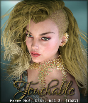 Touchable Adalyn 3D Figure Assets -Wolfie-