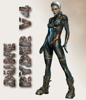 Dune Ryder V4 3D Figure Assets shaft73
