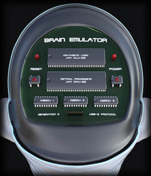 PROTOTYPE-X (Brain Emulator) for G8F 3D Models EdArt3D