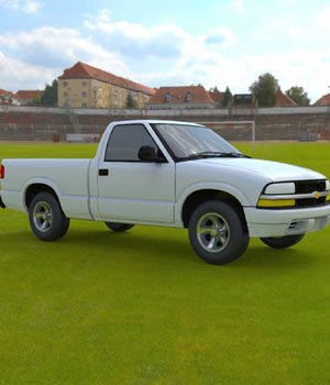Chevy S10 Pickup 1998 - 3ds and obj - Extended License 3D Models Digimation_ModelBank