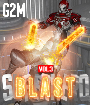SuperHero Blast for G2M Volume 3