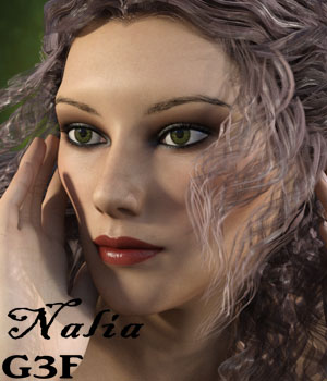 Nalia for Genesis 3 Female 3D Figure Assets aeris19
