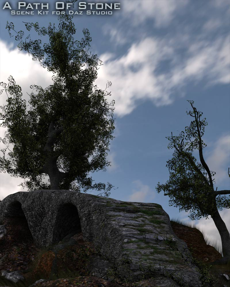 A Path Of Stone  - A Scene Kit For Daz Studio