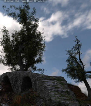 A Path Of Stone  - A Scene Kit For Daz Studio 3D Models sixus1