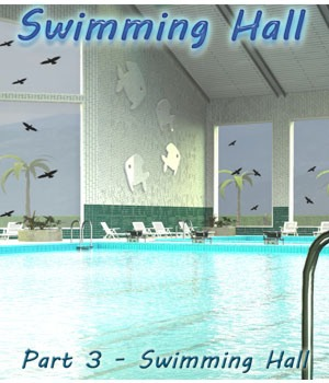 Swimming Hall Part 3 - Swimming Hall 3D Models 3-d-c