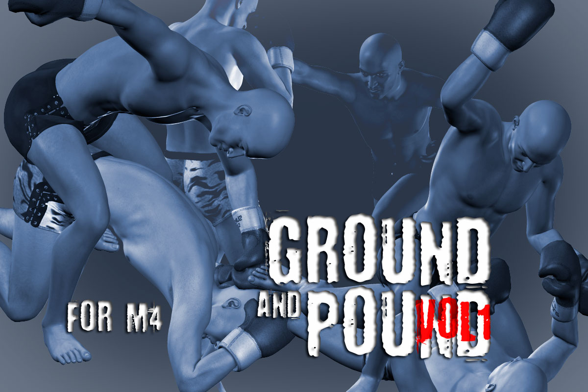 Ground and Pound vol.1 for M4 by PainMD
