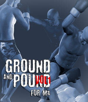 Ground and Pound vol.1 for M4 3D Figure Assets PainMD