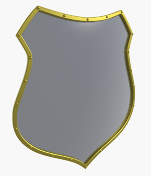 Medieval Shield - Extended License 3D Game Models : OBJ : FBX 3D Models Extended Licenses Guilhem_Bedos