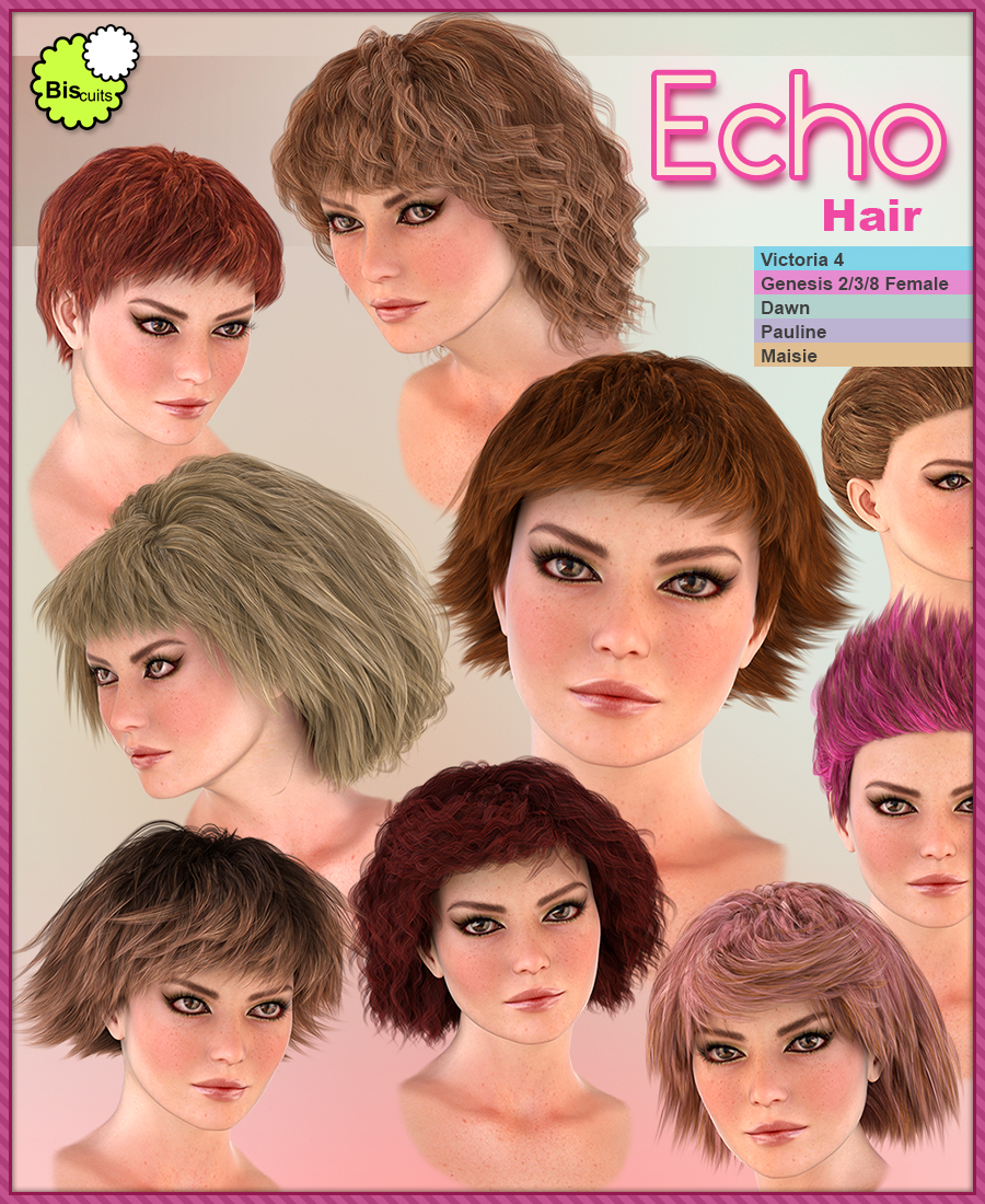 Biscuits Echo Hair by Biscuits