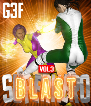 SuperHero Blast for G3F Volume 3