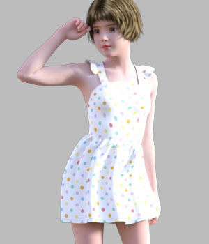 GaoDan Simple Clothing 22 3D Figure Assets gaodan