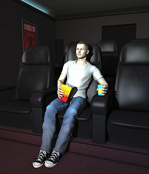 Home Movie Theater 3D Models coflek-gnorg