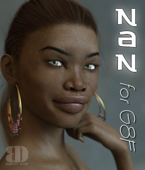 Nan for G8F Morph 3D Figure Assets bigdreams