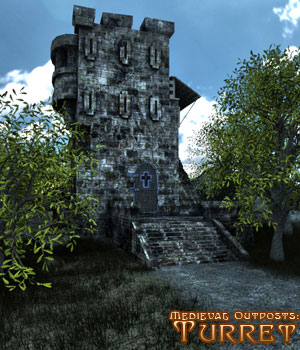 Medieval Outpost Turret