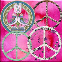 Harvest Moons Peace Signs image 1
