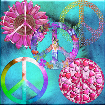 Harvest Moons Peace Signs image 2