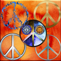 Harvest Moons Peace Signs image 3