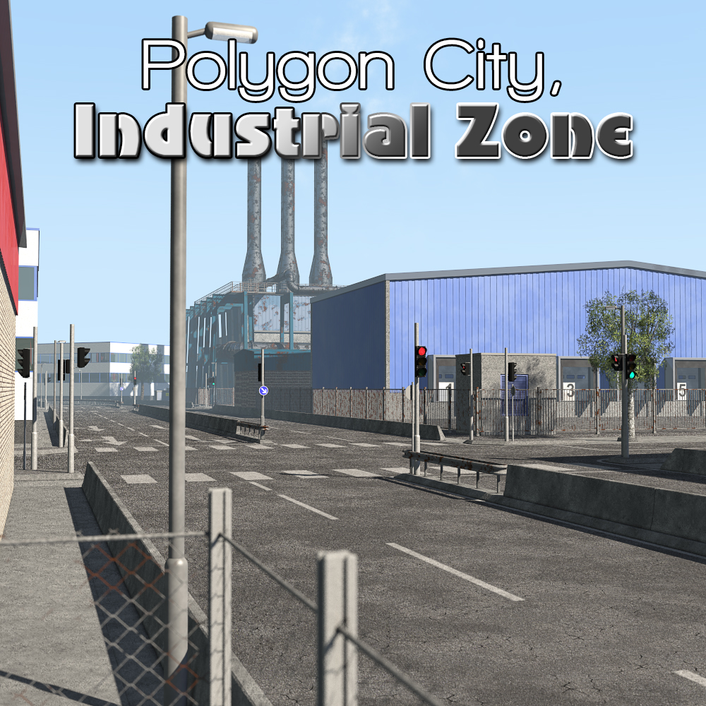 Polygon City, Industrial Zone by 2nd_World