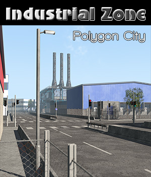 Polygon City, Industrial Zone 3D Models 2nd_World