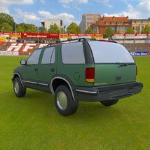 Chevy S10 Blazer 1998 for 3ds and obj - Extended License image 1